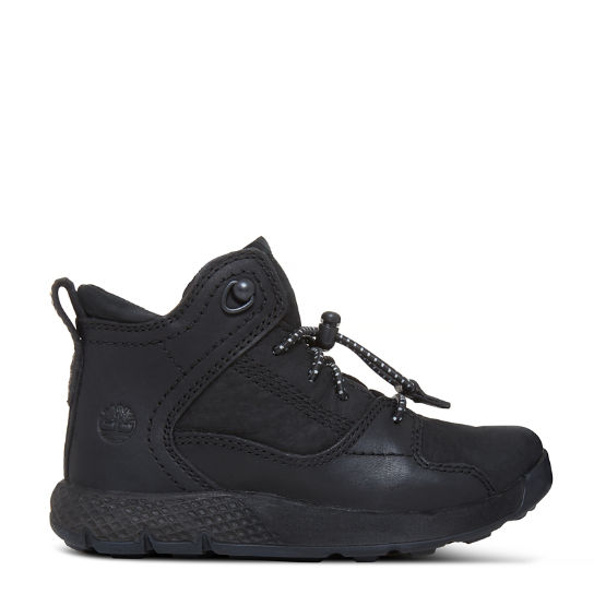 Flyroam™ High Top Sneaker for Toddlers in Black | Timberland