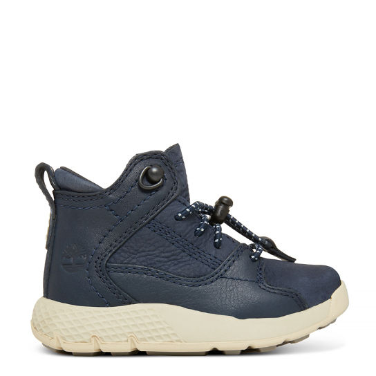 Flyroam™ High Top Sneaker for Toddlers in Navy | Timberland