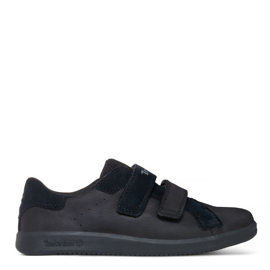 Junior Court Side Hook-and-Loop Oxford Schwarz | Timberland