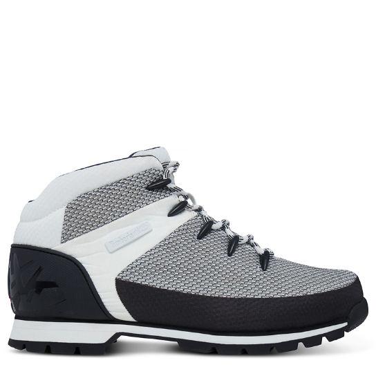Mens Euro Sprint Fabric Chukka Boots, Black Timberland