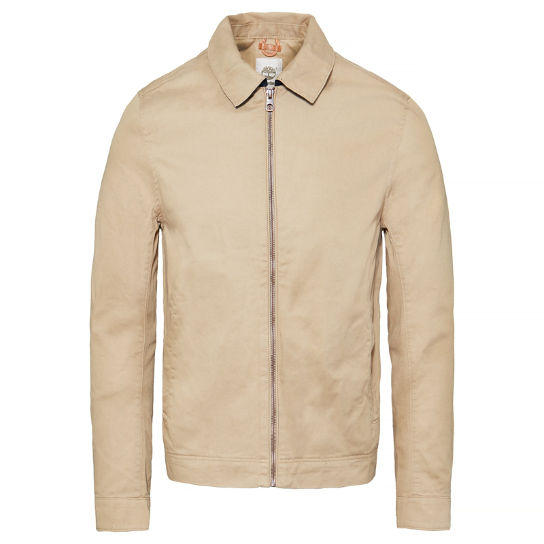 Stratham - Cotton Bomber Jacket Heren | Timberland