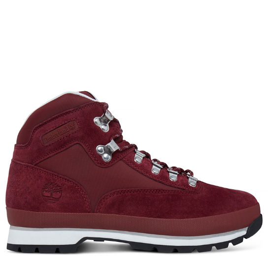 Men's Euro Hiker Boot Rich Red | Timberland