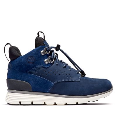 Killingon+Hiker+Chukka+voor+Juniors+in+marineblauw