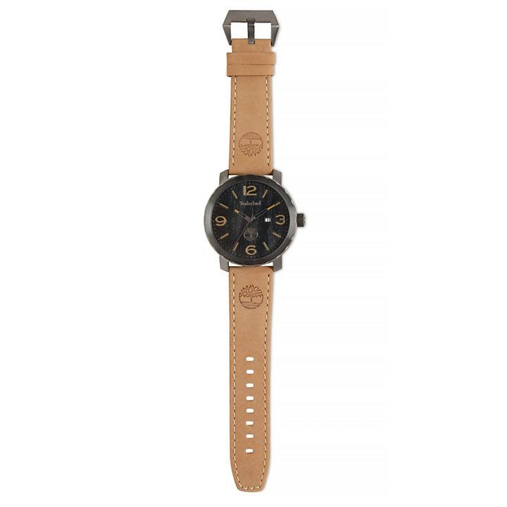 Pinkerton Armbanduhr für Herren in Schwarz/Beige-