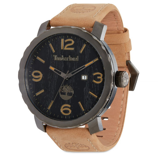 Pinkerton Watch for Men in Black/Beige | Timberland