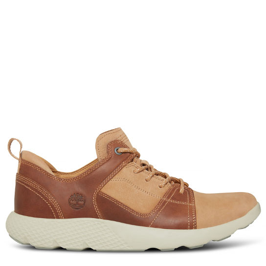 Flyroam Leather Trainer Color cuoio Uomo | Timberland