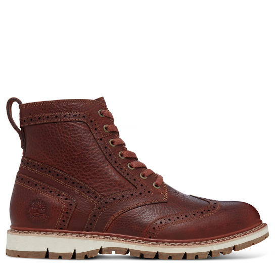 Men's Britton Hill Wingtip Boot Brown | Timberland