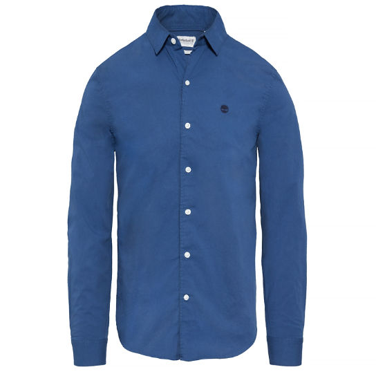 Men's Suncook River Slim Shirt Indigo | Timberland