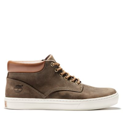 Chukka+da+Uomo+Adventure+2.0+Cupsole+in+marrone+scuro