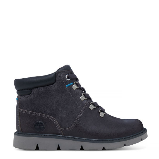 Youth Prescott Park Hiker Boot Grey | Timberland