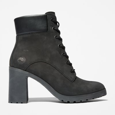 Allington+6+Inch+Lace-Up+Boot+for+Women+in+Black