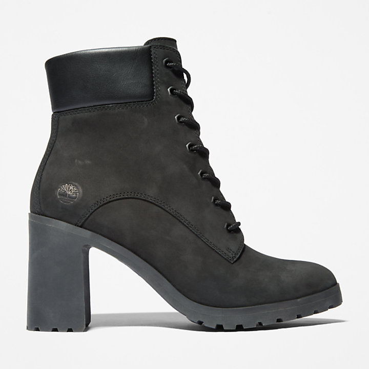 Allington 6 Inch Lace-Up Boot for Women in Black-
