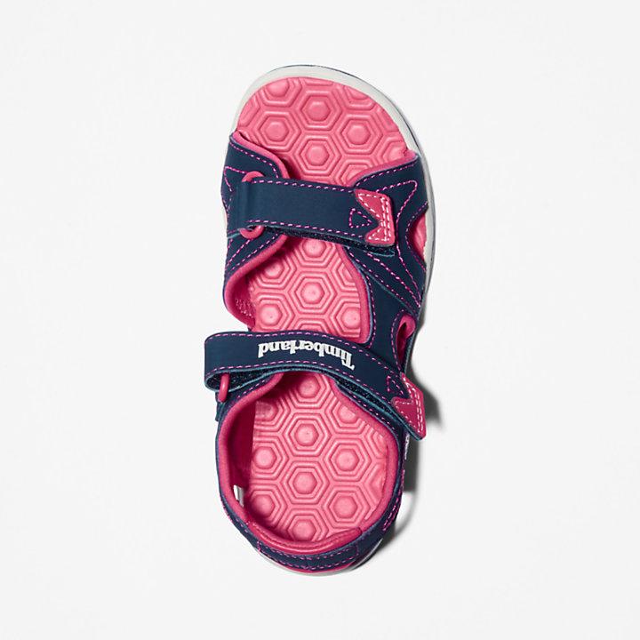 Sandale Adventure Seeker junior en bleu marine/rose-