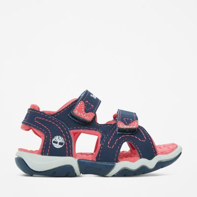 Adventure+Seeker+2-Strap+Sandal+for+Toddler+in+Navy%2FPink