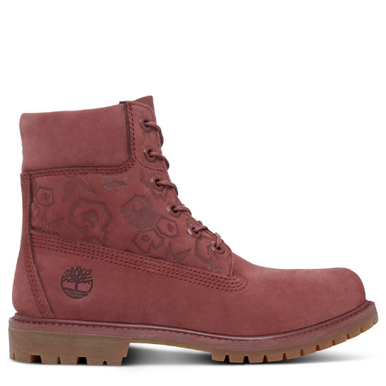 Women's 6-inch Icon Boot Dusky Red | Timberland