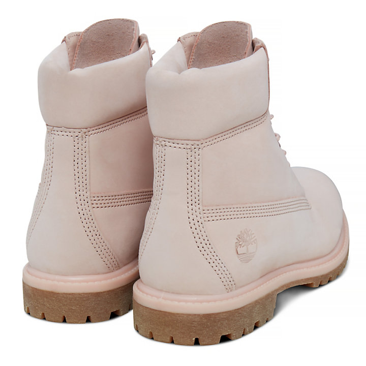 Premium 6 Inch Boot for Women in Pale Pink-