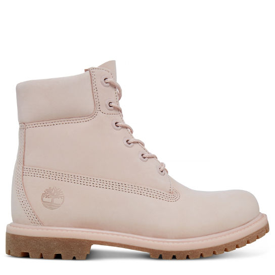 Premium 6 Inch Boot for Women in Pale Pink | Timberland