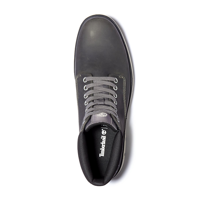 Bradstreet Leather Chukka for Men in Dark Grey-