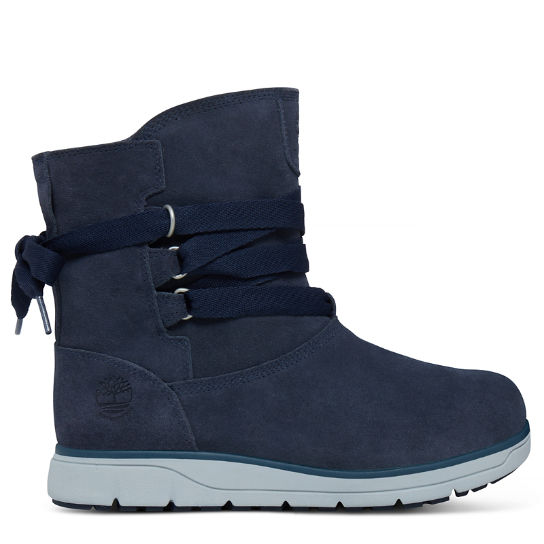 Leighland Pull On Boot Schemerig Blauw Dames | Timberland