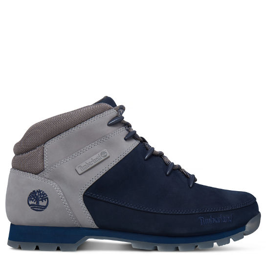 Men's Euro Sprint Hiker Boot Navy/Grey | Timberland