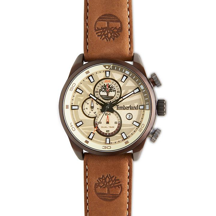 Henniker II Watch Blanco/Marrón Hombre-