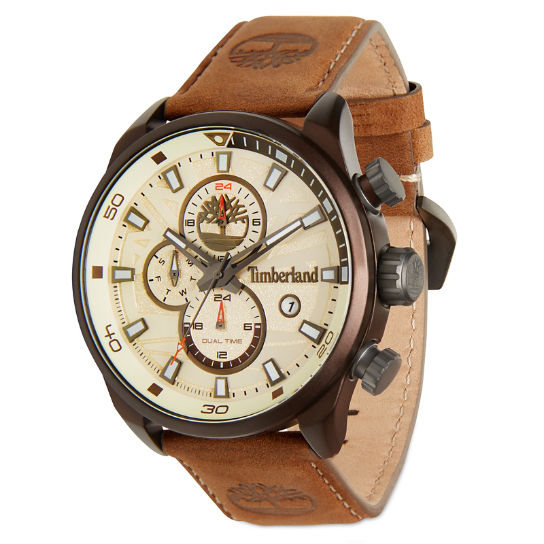 Men's Henniker II Watch White/Brown | Timberland
