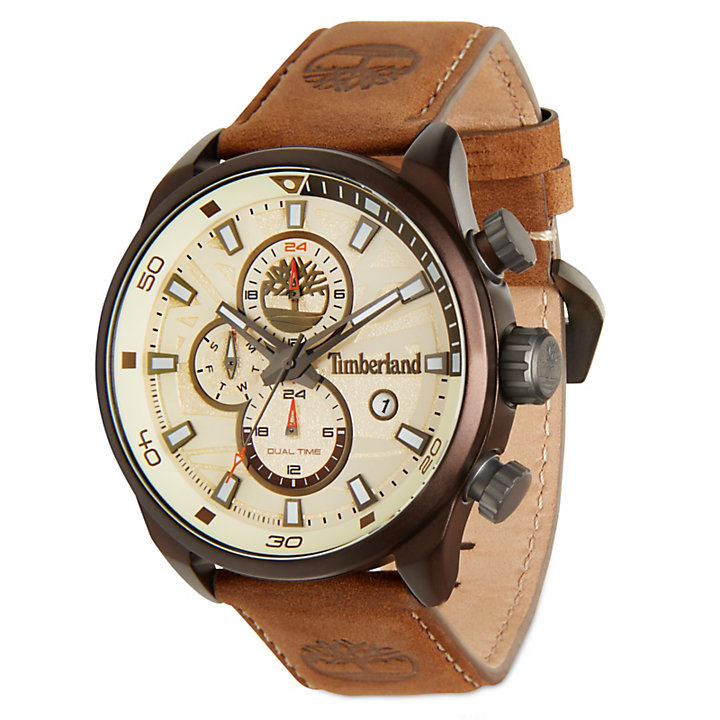 Men's Henniker II Watch White/Brown-