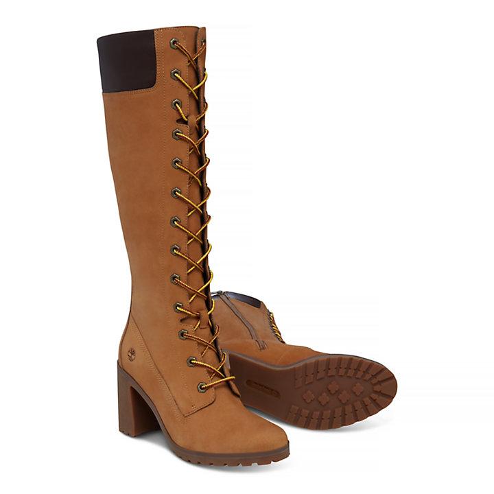 14-Inch Boot Allington pour femme en jaune-