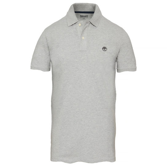 Men's Merrymeeting River Polo Shirt Grey | Timberland