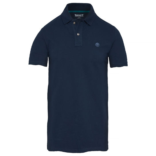 Men's Merrymeeting River Polo Shirt Navy | Timberland