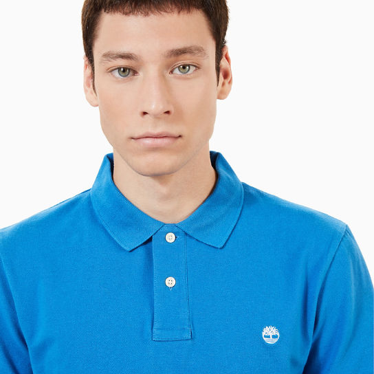 Merrymeeting River Polo Shirt for Men in Blue | Timberland