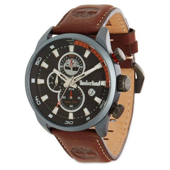 Henniker II Watch Nero/Marrone Uomo | Timberland