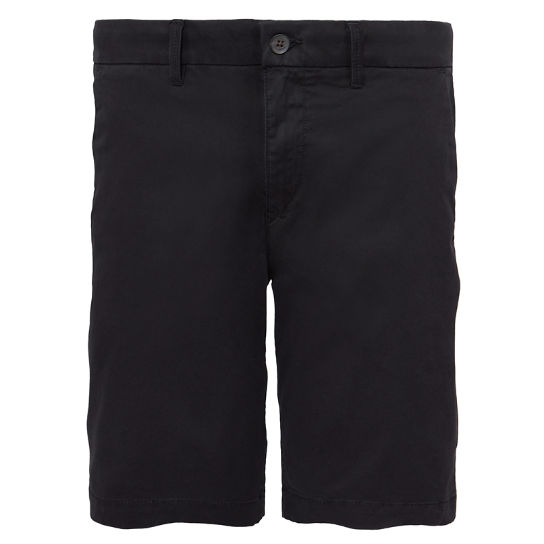 Men's Squam Lake Chino Shorts Black | Timberland