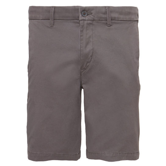Herren Squam Lake Chino Shorts Dunkelgrau | Timberland
