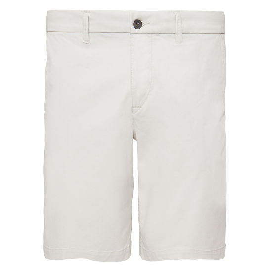 Men's Squam Lake Chino Shorts Silver | Timberland