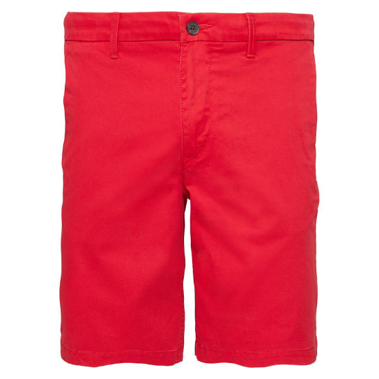 Squam Lake Chino Shorts Heren Rood | Timberland