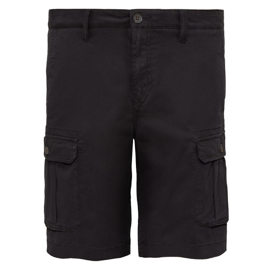 Webster Lake Cargo Shorts Nero Uomo | Timberland