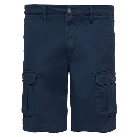 Webster Lake Cargo Shorts Marineblauw Heren | Timberland