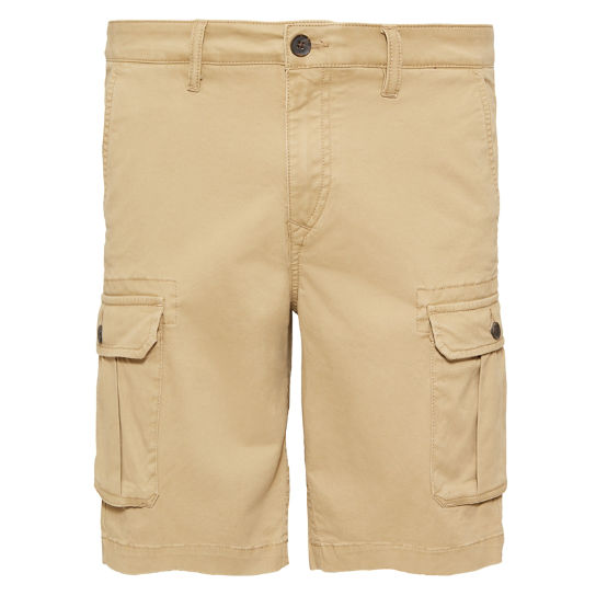 Webster Lake Cargo Shorts Kaki Heren | Timberland