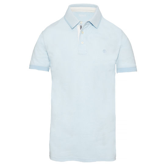 Men's Millers River Oxford Polo Shirt Blue | Timberland