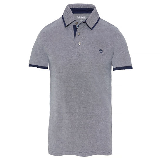 Men's Millers River Oxford Polo Shirt Navy | Timberland