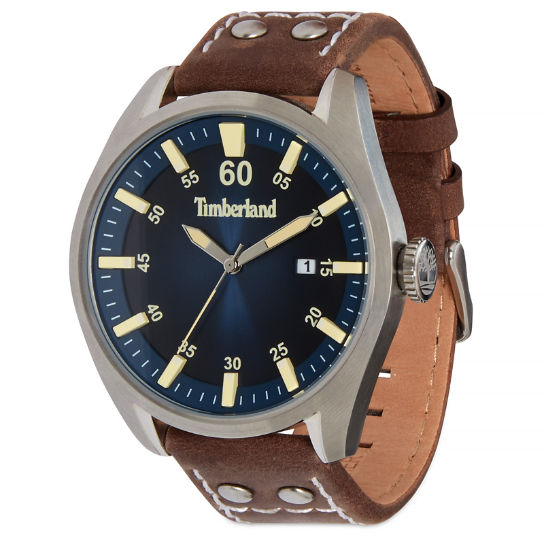 Bellingham Watch for Men in Navy/Brown | Timberland