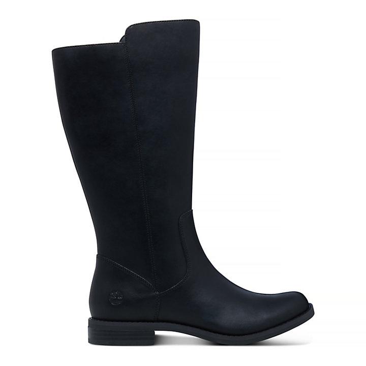 Bota Alta Magby para Mujer en color negro-