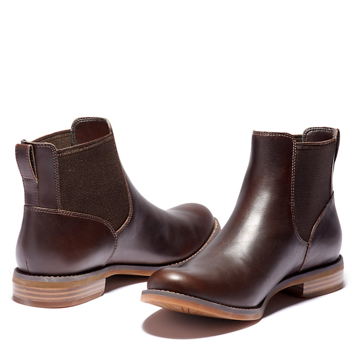 Magby Chelsea Boot for Women in Brown-