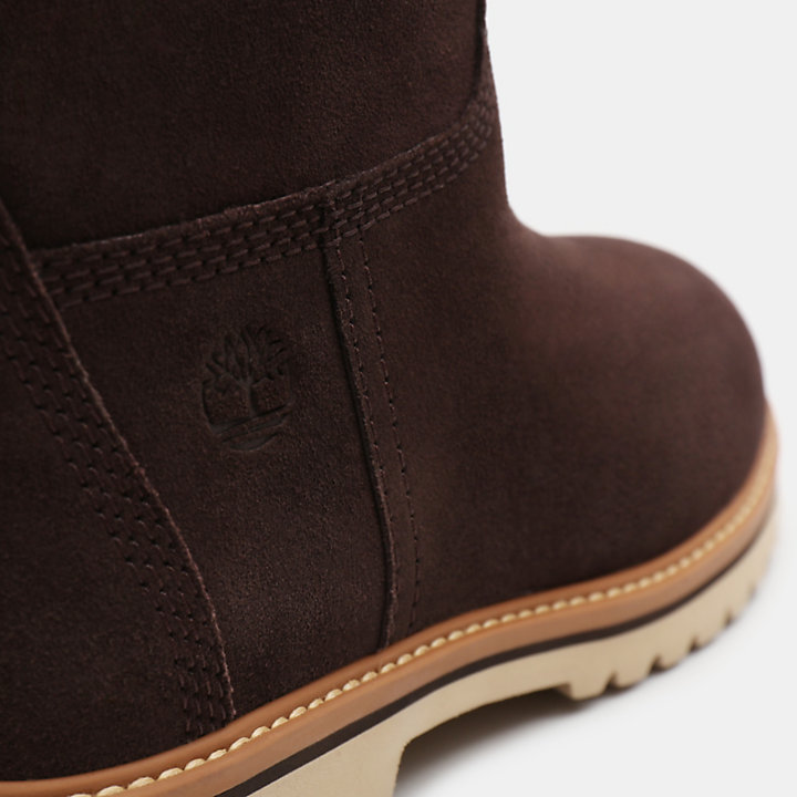 Chamonix Valley Pull-On Boot for Women in Chocolate-