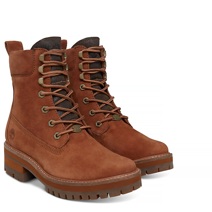 Courmayeur Valley Boot voor Dames in Bruin-
