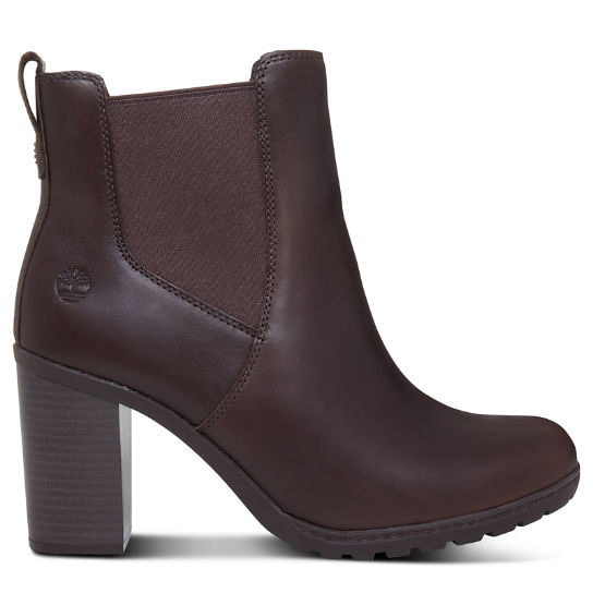 Linwood Chelsea Boot for Women in Dark Brown | Timberland