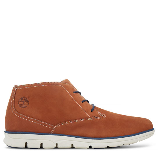 Men's Bradstreet Plain Toe Chukka Copper | Timberland