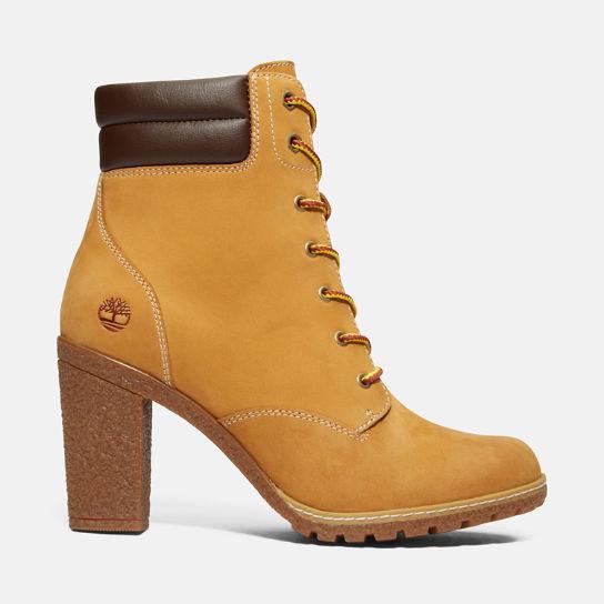 timberland jaune femme