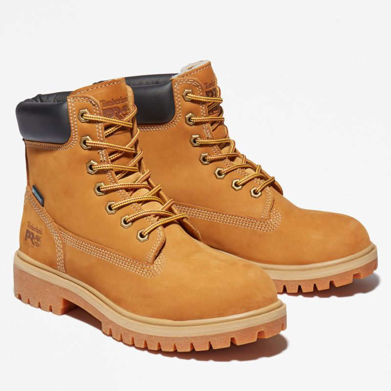 Timberland - pro 6-inch worker boot gelb - 4
